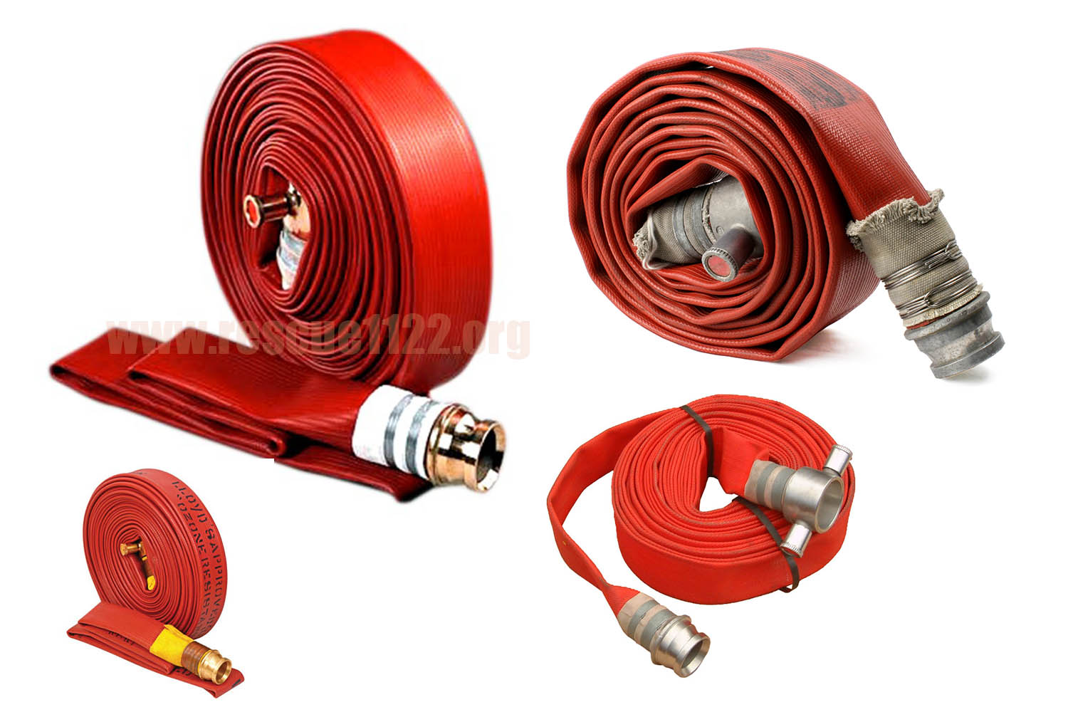 Fire Hoses Red