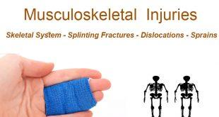 Musculoskeletal Injuries - Splinting Fractures - Dislocations - Sprains